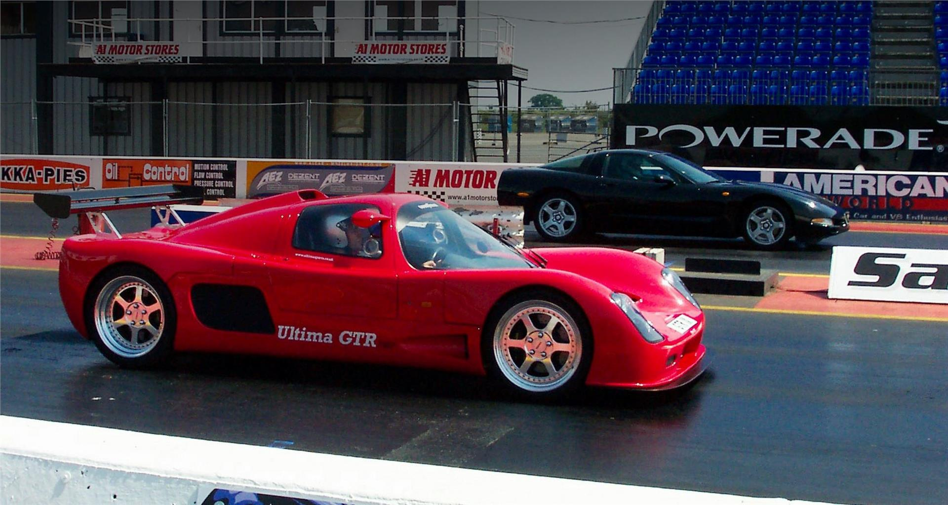 Ultima GTR at Santa Pod